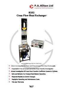 H352 Cross Flow Heat Exchanger
