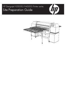H45000 Printer series. Site Preparation Guide