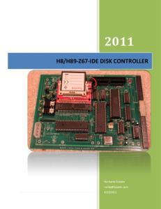 H89-Z67-IDE DISK CONTROLLER