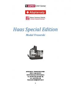 Haas Special Edition