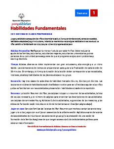 Habilidades Fundamentales