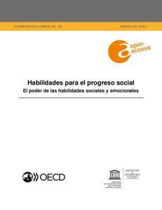 Habilidades para el progreso social