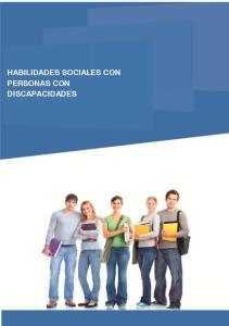 HABILIDADES SOCIALES CON PERSONAS CON DISCAPACIDADES