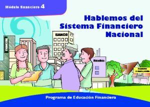 Hablemos del Sistema Financiero Nacional