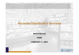 Hachette Distribution Services