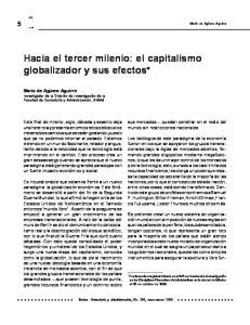 Hacia el tercer milenio: el capitalismo globalizador y sus efectos*