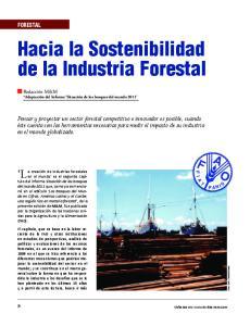 Hacia la Sostenibilidad de la Industria Forestal