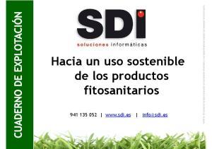 Hacia un uso sostenible de los productos fitosanitarios