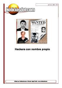 Hackers con nombre propio