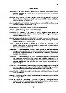 Hadi, S. 2004a. Statistik Jilid : 1. Yogyakarta: Penerbit ANDI b. Statistik : Jilid 2. Yogyakarta: Penerbit ANDI