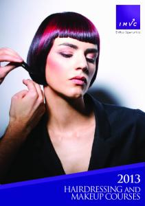 HAIRDRESSING and MAKEUP COURSES