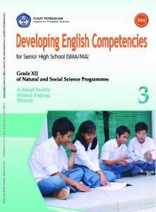Hak Cipta Buku ini dibeli oleh Departemen Pendidikan Nasional dari Penerbit Setia Purna Inves