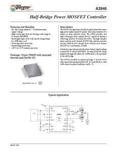 Half-Bridge Power MOSFET Controller