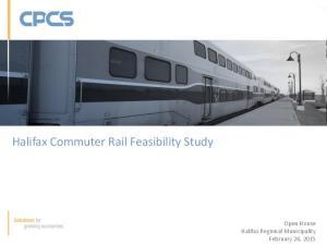 Halifax Commuter Rail Feasibility Study