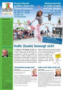 Halle (Saale) bewegt sich!