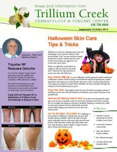 Halloween Skin Care Tips & Tricks