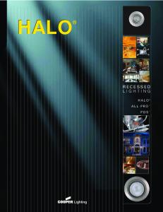 HALO RECESSED LIGHTING HALO ALL-PRO PDS
