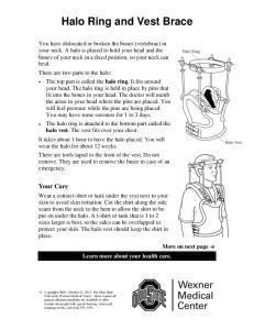 Halo Ring and Vest Brace