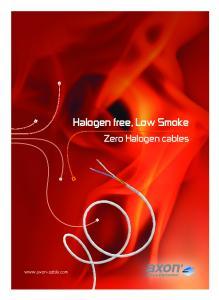 Halogen free, Low Smoke