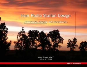 Ham Radio Station Design