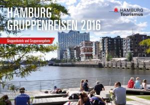 HAMBURG GRUPPENREISEN 2016