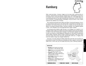 Hamburg. Lonely Planet Publications 653