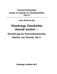 Hamburgs Geschichte einmal anders