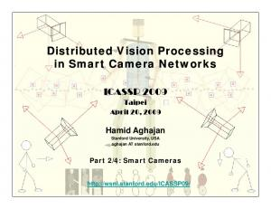 Hamid Aghajan Stanford University, USA