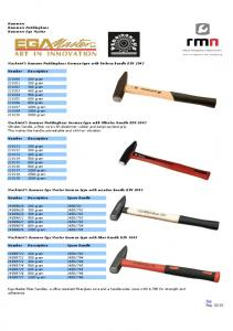 Hammers Hammers Peddinghaus Hammers Ega Master. Machnist's hammer Peddinghaus German type with hickory handle DIN 1041