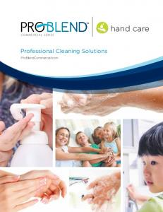 hand care Professional Cleaning Solutions ProBlendCommercial.com