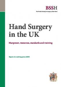 Hand Surgery in the UK