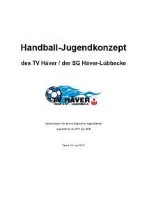 Handball-Jugendkonzept