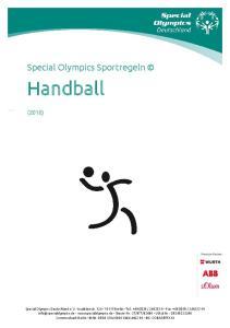 Handball. Special Olympics Sportregeln (2016)