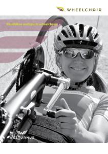 Handbikes and sports wheelchairs