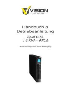 Handbuch & Betriebsanleitung