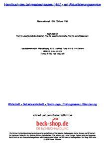 Handbuch des Jahresabschlusses (HdJ) mit Aktualisierungsservice