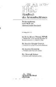 Handbuch des Jahresabschlusses