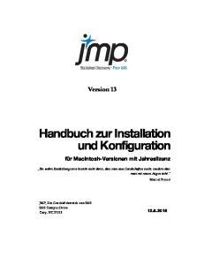 Handbuch zur Installation und Konfiguration