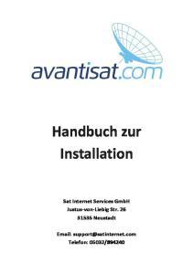 Handbuch zur Installation