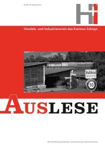 Handels- und Industrieverein des Kantons Schwyz. Handels- und Industrieverein des Kantons Schwyz. Handels- und Industrieverein des Kantons Schwyz