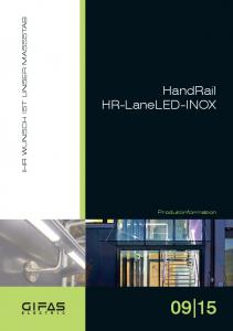 HandRail HR-LaneLED-INOX