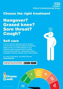 Hangover? Grazed knee? Sore throat? Cough?