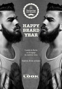 HAPPY BEARD YEAR. Cuando la Barba es el espejo de nuestra Alma. Madrid, 18 de octubre