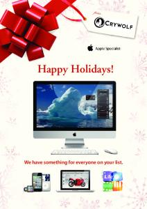 Happy Holidays! We have something for everyone on your list