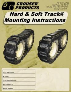 Hard & Soft Track Mounting Instructions