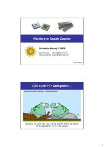 Hardware Crash Course