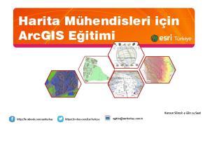 Harita Mühendisleri için ArcGIS Eğitimi