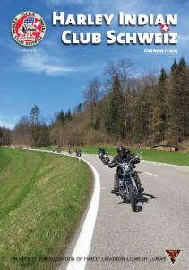 Harley Indian Club Schweiz Club News