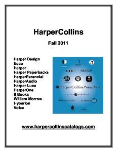HarperCollins. Fall
