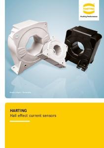 HARTING Hall effect current sensors